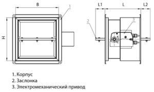 Ognezaderzhivajushhij-protivopozharnyj-klapan-UVSDD_dvoynogo_deystviya_konstruktsiya