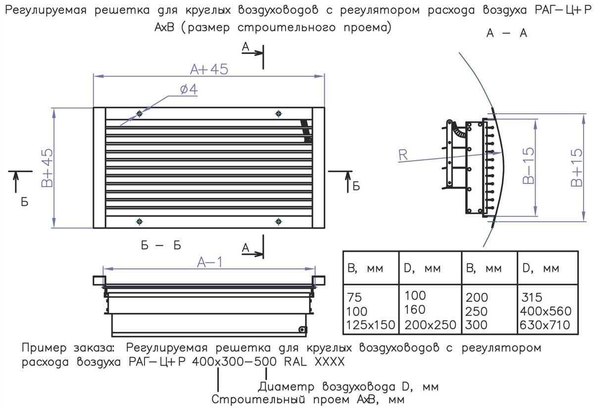 ventilyatsionnaya_reshetka_kruglih_vozuhovodov_RAG_TSR_shema
