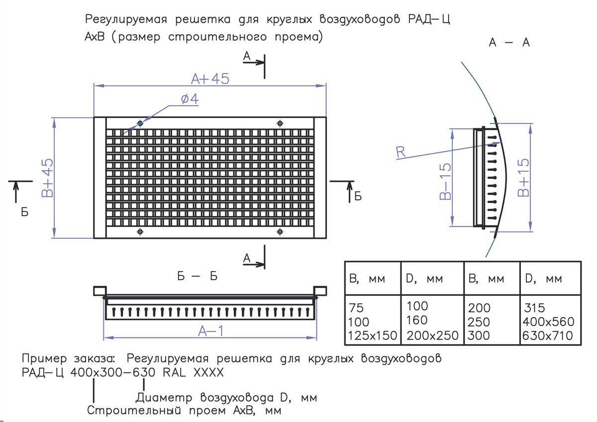 ventilyatsionnaya_reshetka_reguliruemaja_RAD_TS_shema