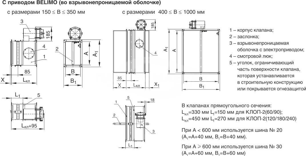 Klapan_Klop2v_vzrivozashishyonniy_pryamougolniy_shemi_konstruktsii