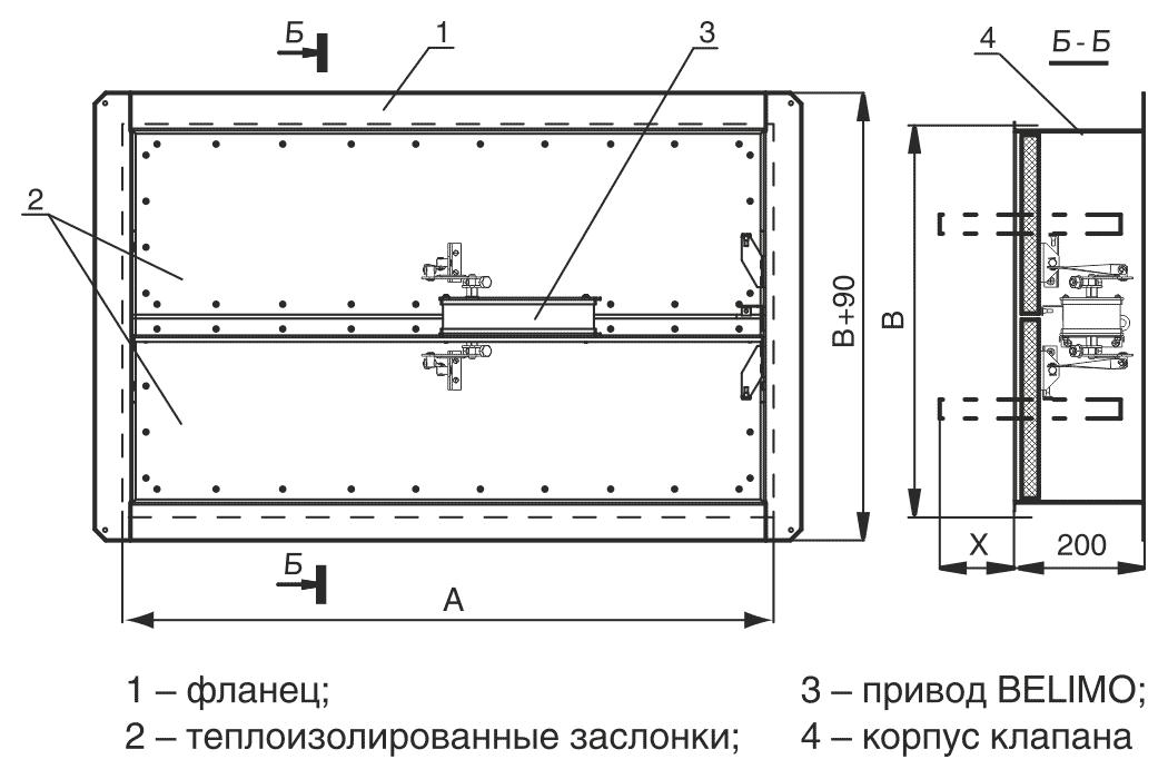 shema_konstruktsii_klapana_Klop_3_privod_belomo