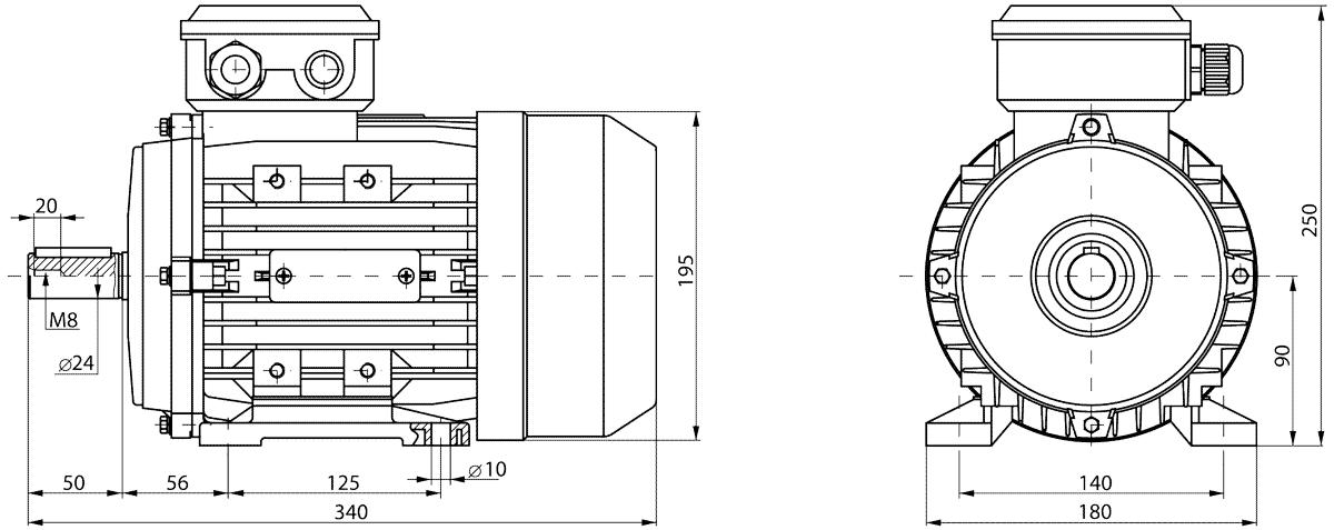 Vilmann_Z_90L_2_gabaritnie_razmeri