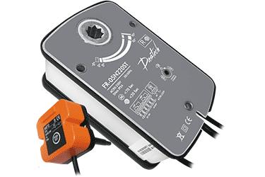 Электроприводы Dastech FR противопожарных клапанов