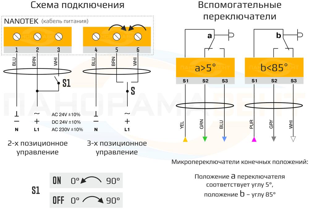 shema_podklyucheniya_elektroprivoda_Nanotek
