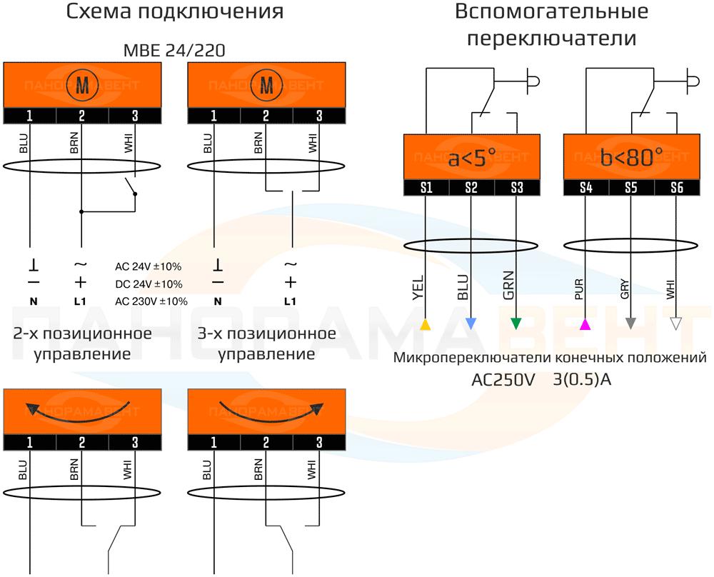 elektricheskaya_shema_podklyucheniya_privoda_MBE_24_220_reversivniy