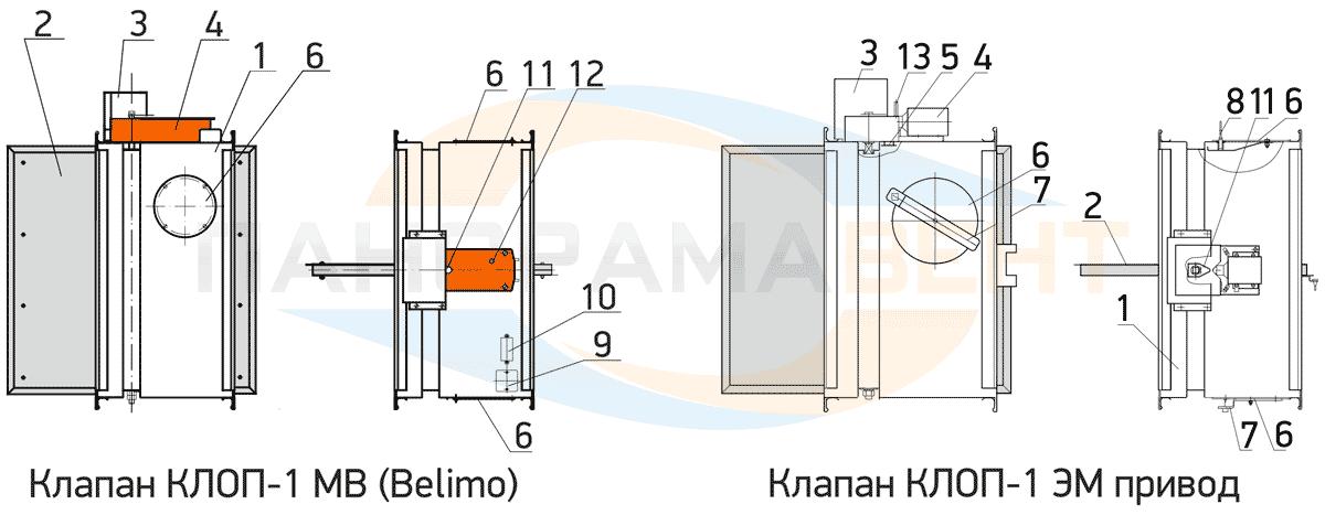 konstrukciya_ognezaderjivayushego_klapana_OZK_vings_klop_1